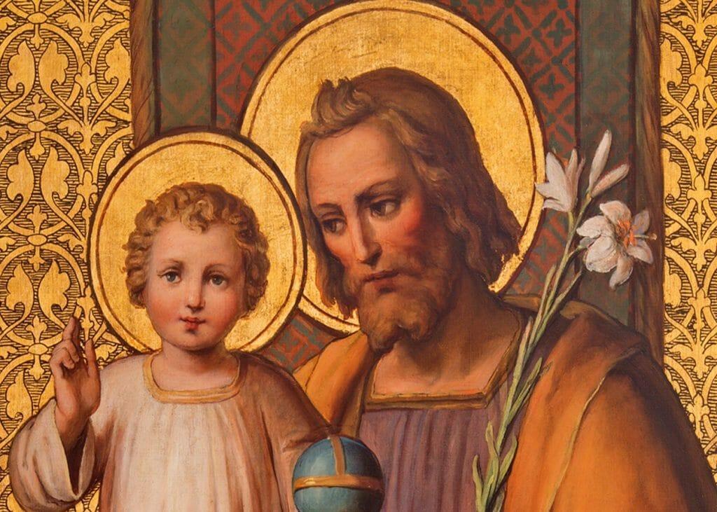 Child Jesus and St. Joseph